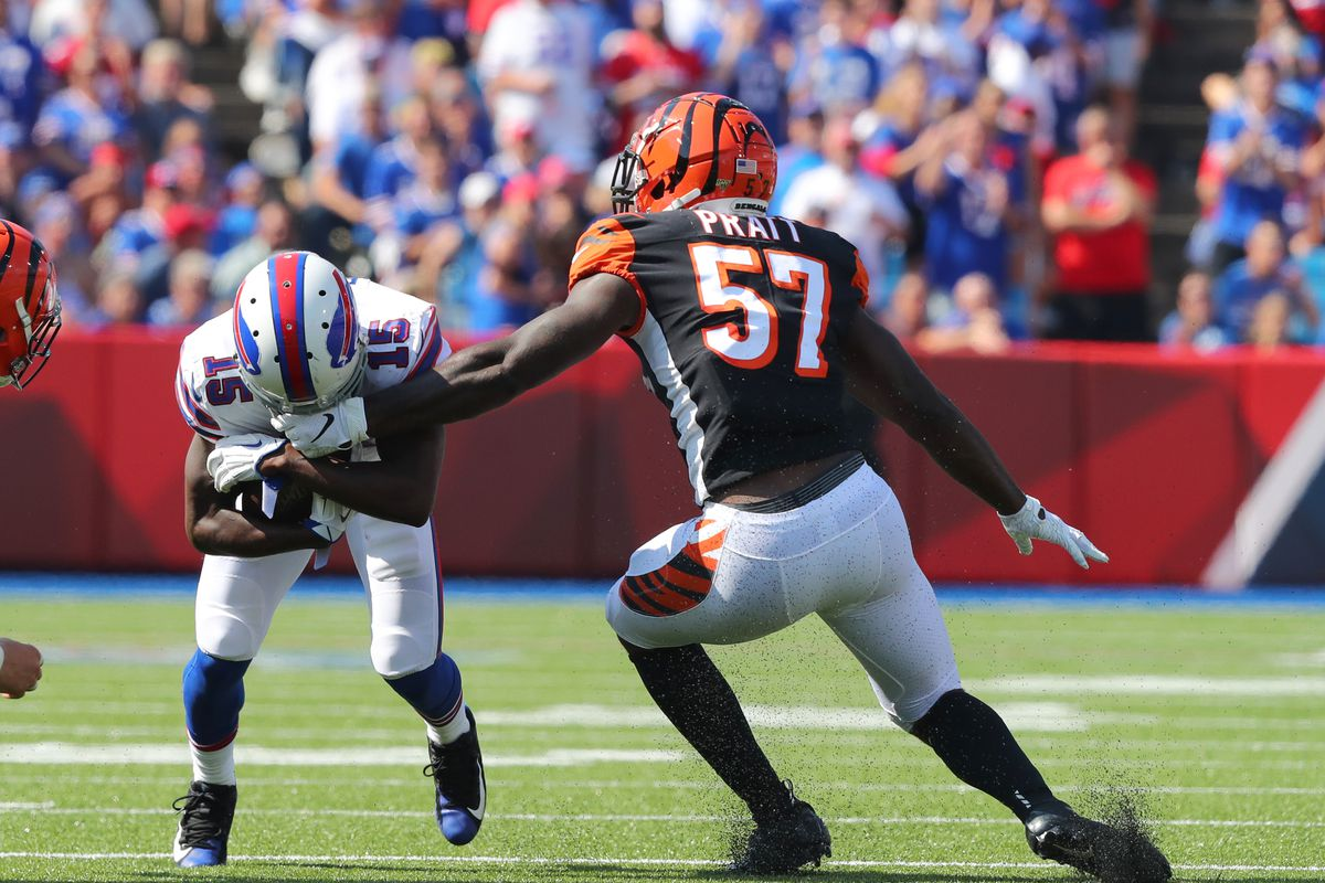 free shipping 3a297 9f89e Bengals Week 3 rookie report: Damion Willis benched ...