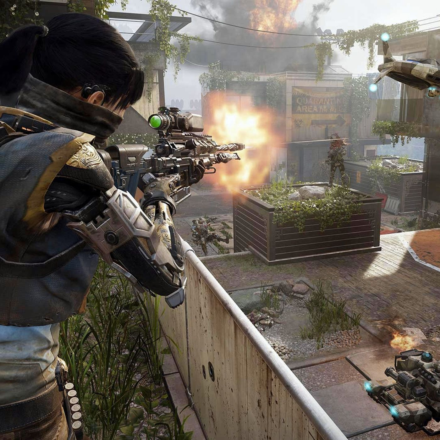 Call Of Duty Black Ops 3 Pc Features Include Split Screen