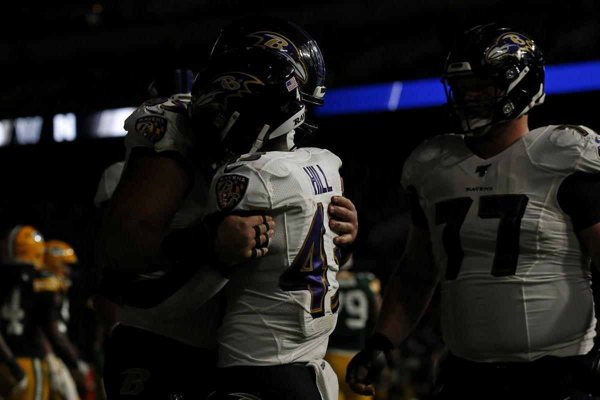 Green Bay Packers v Baltimore Ravens