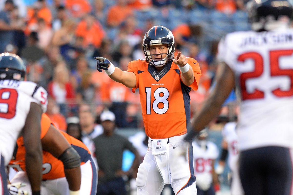 Denver Broncos Vs Houston Texans Live Game Blog Mile High Report