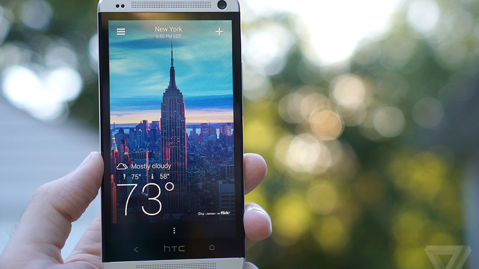 Yahoos Beautiful New Weather App Comes To Android The Verge - Yahoo us weather map