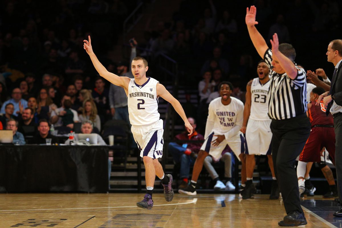 NCAA Basketball: 2K Classic-Washington vs Virginia Tech