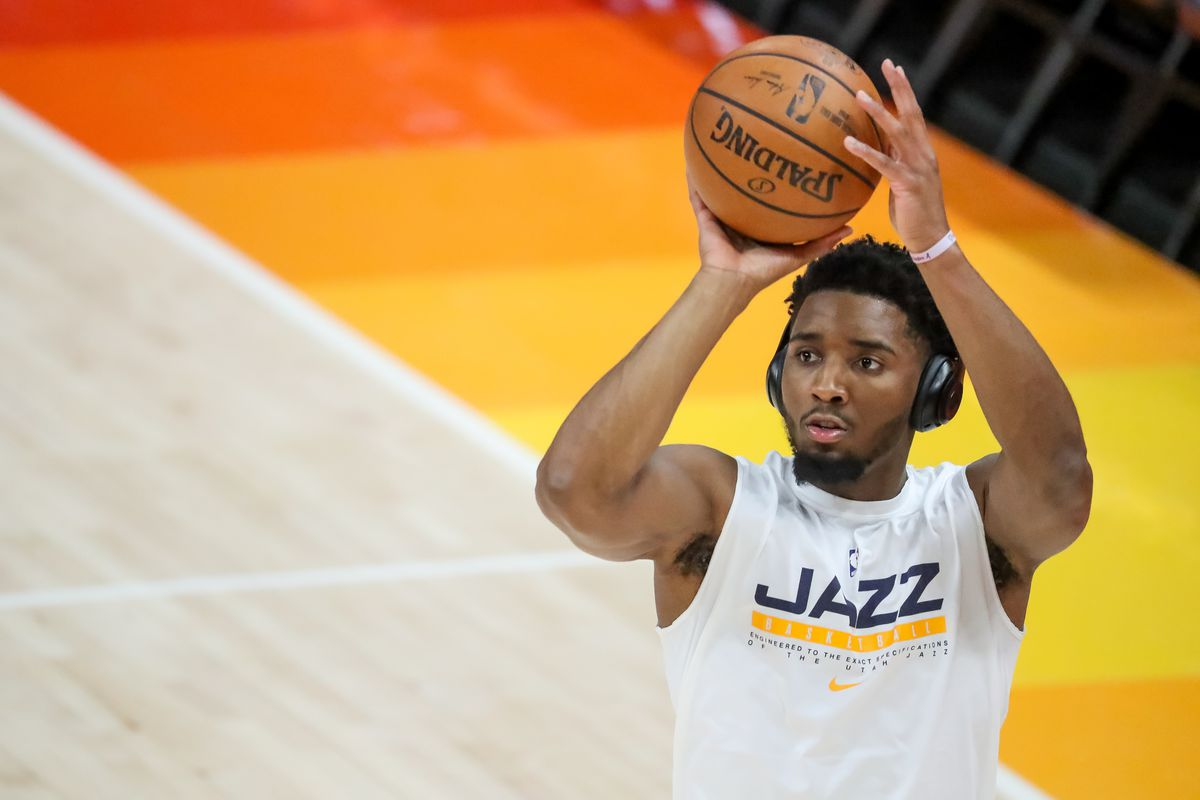 Utah Jazz guard Donovan Mitchell continues to work as a leader in the NBA Social Justice Coalition.
