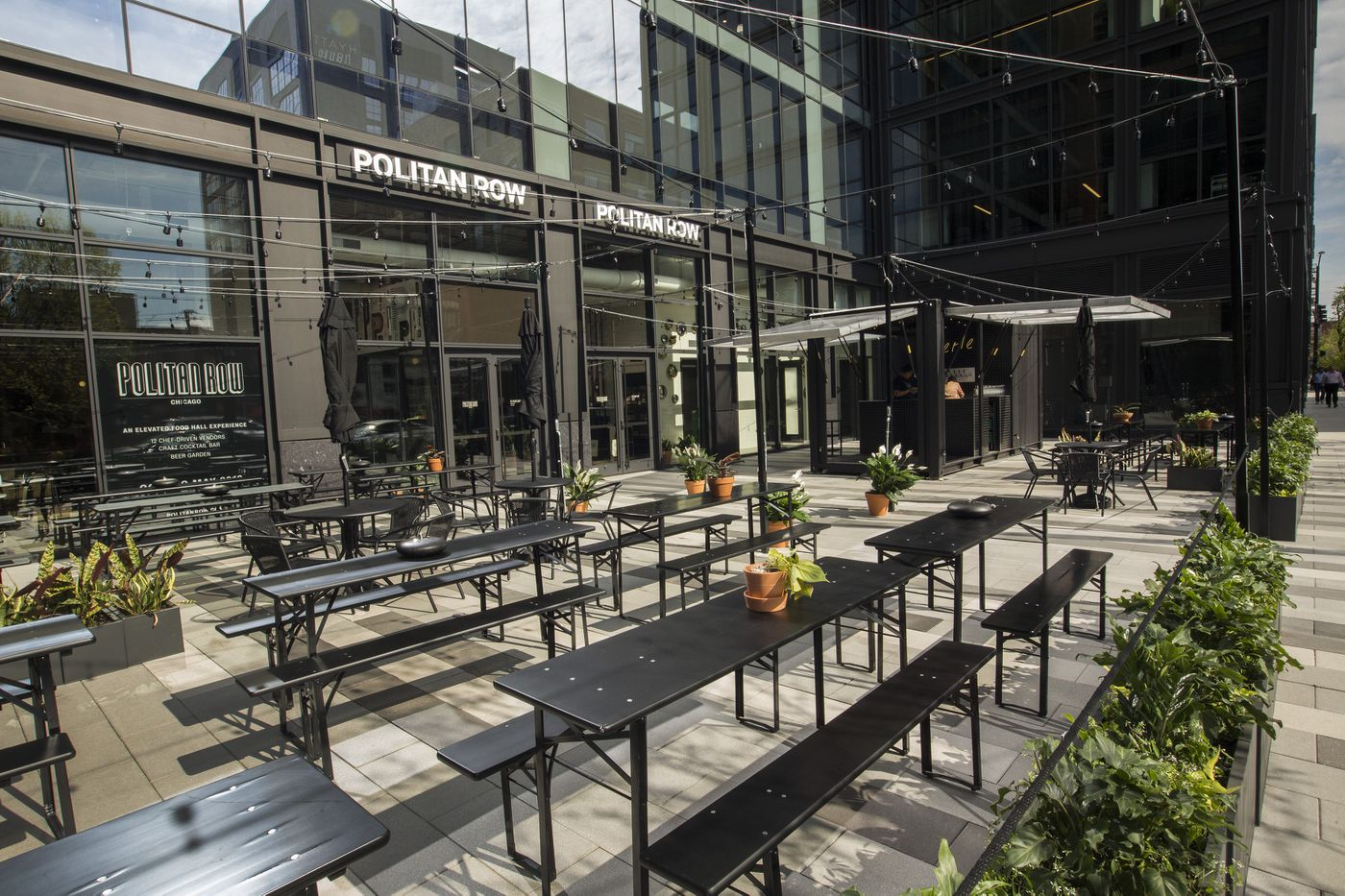 Tour Politan Row, Chicago's newest food hall now open in
