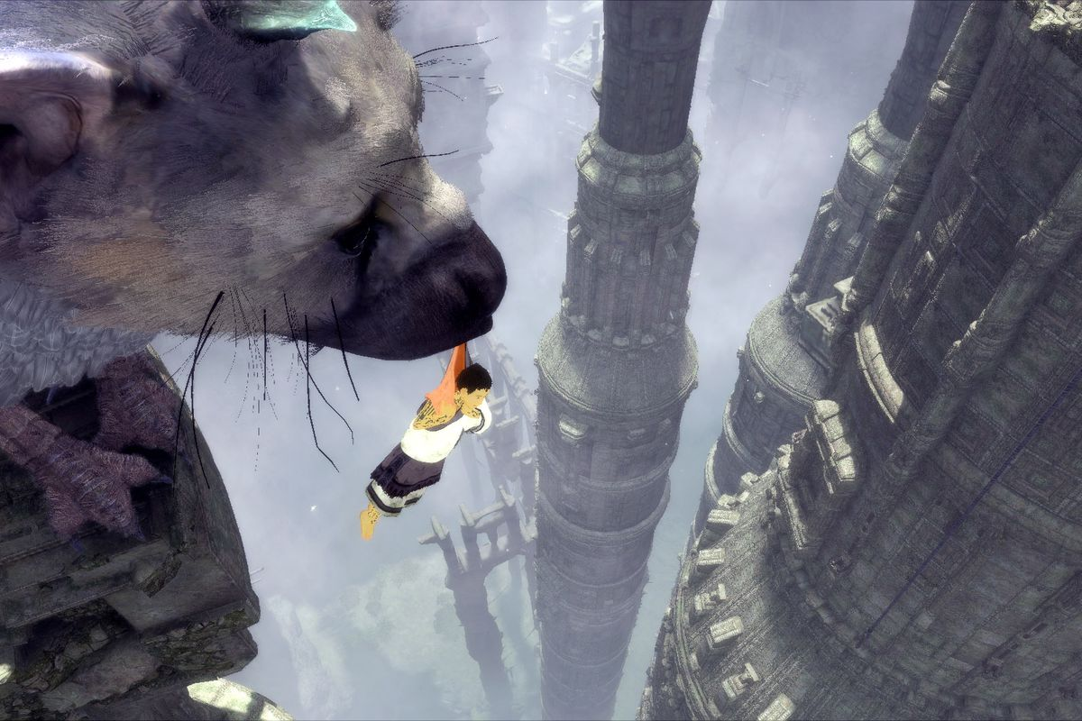 the last guardian's tower comes into full view with fan-made map
