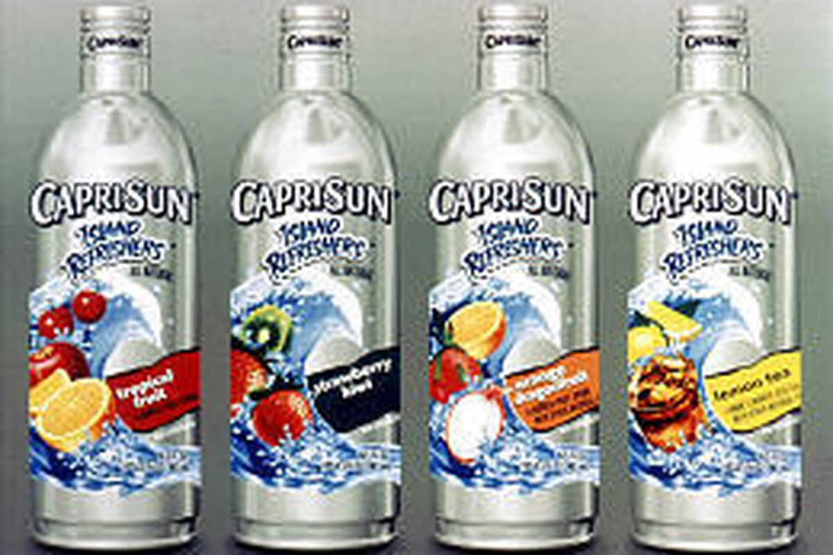 Capri Sun Island Refreshers are a step up from pouches - but still contain only 10 percent real fruit juice.
