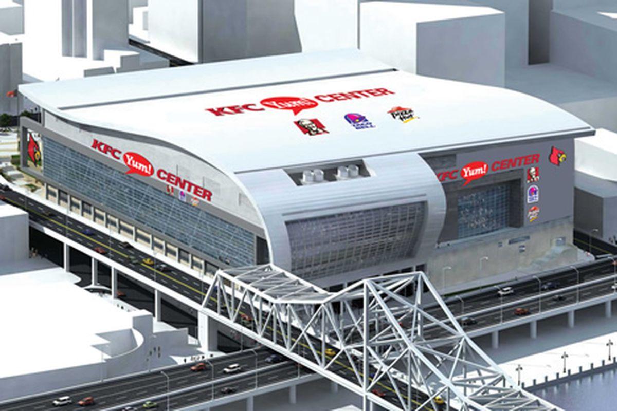 KFC Yum Center | Sports | Mortenson |Kfc Yum Arena