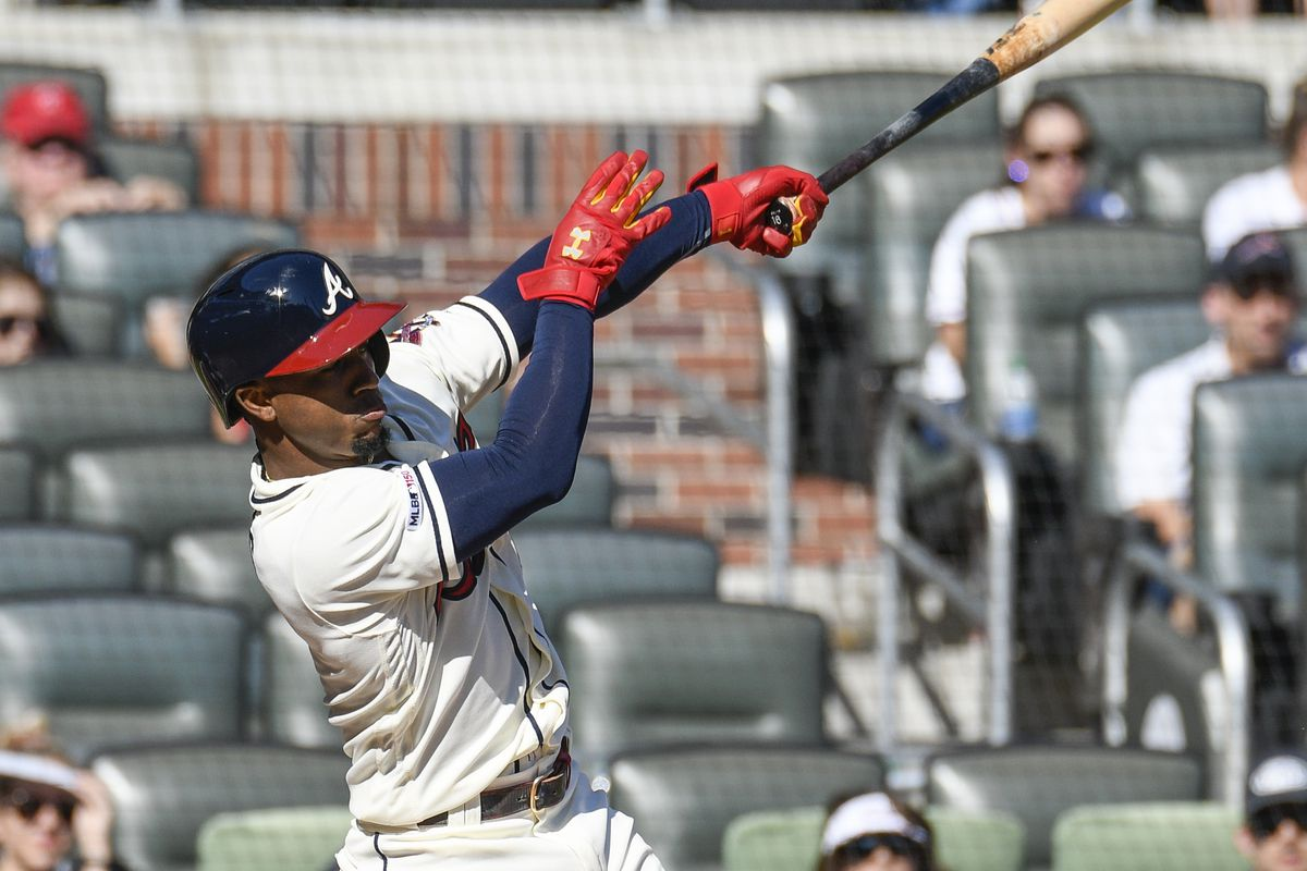 MLB: San Francisco Giants at Atlanta Braves
