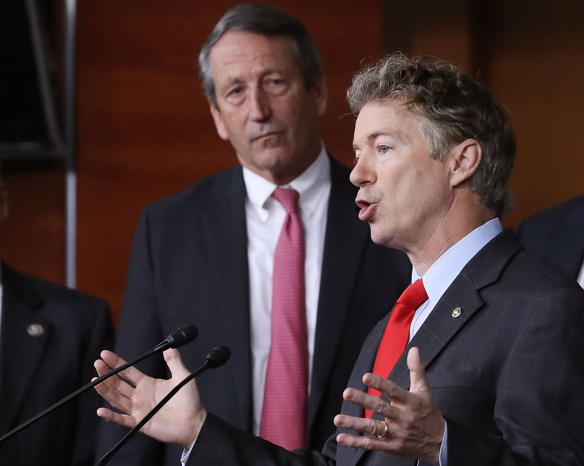 Sen. Rand Paul And Rep. Mark Sanford Discuss Their Efforts To Repeal The ACA