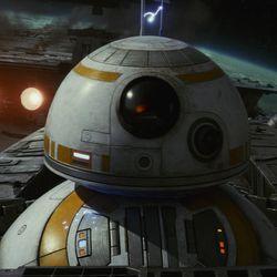 Star Wars: The Last Jedi  BB-8  Photo: Lucasfilm Ltd.   © 2017 Lucasfilm Ltd. All Rights Reserved.