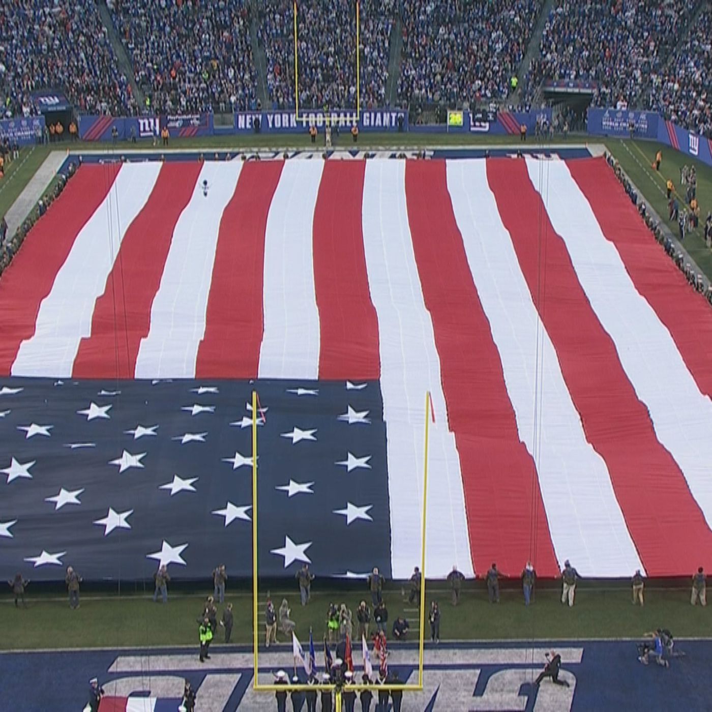 NFL Giant 4 foot by 6 foot Flag