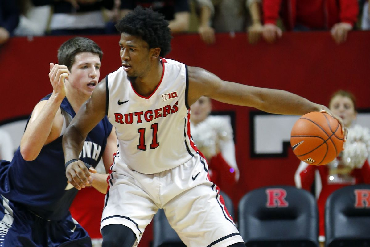 Kadeem Jack is averaging 13.8 PPG and 7.4 rebounds on the year for Rutgers