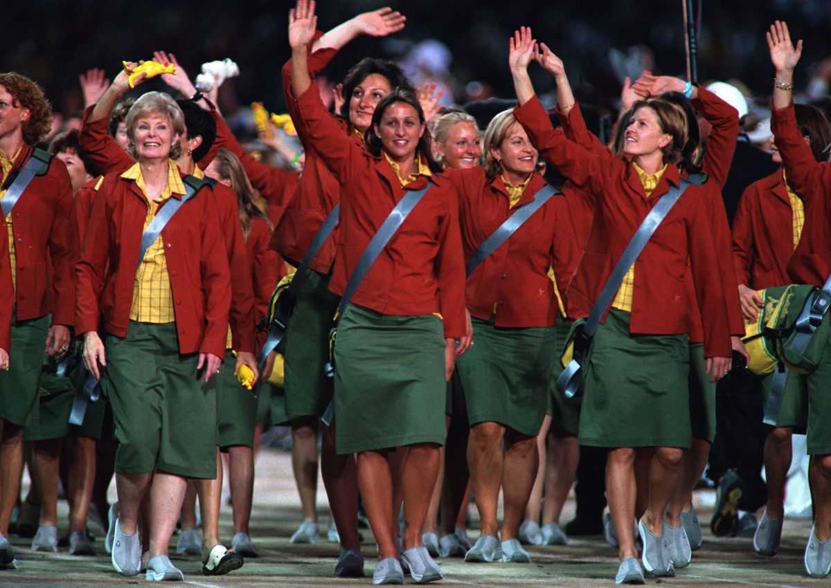 Nobody does ugly sports uniforms like Australia 3