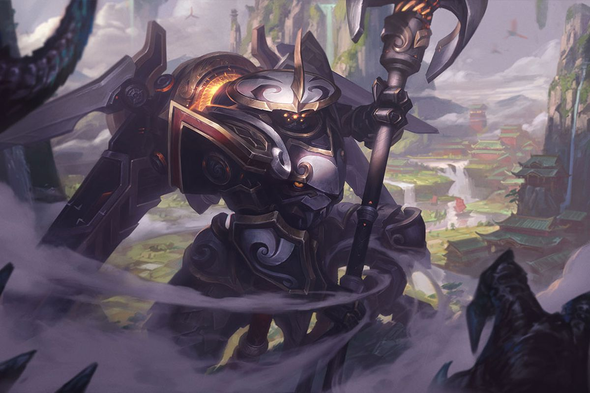 Image result for mecha kingdom splash art