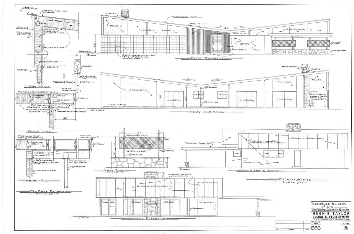 Hugh Taylor blueprint