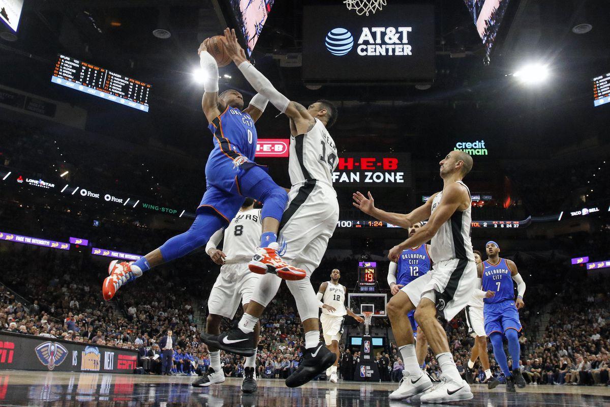 Oklahoma City Thunder v San Antonio Spurs