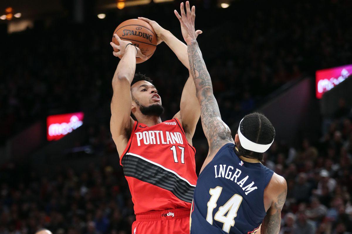 New Orleans Pelicans v Portland Trail Blazers