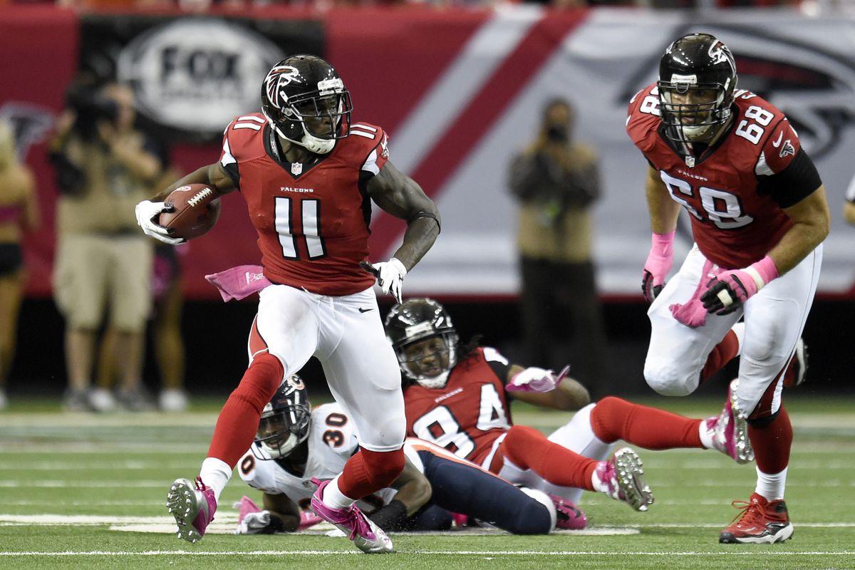The Falcons Got Their Man