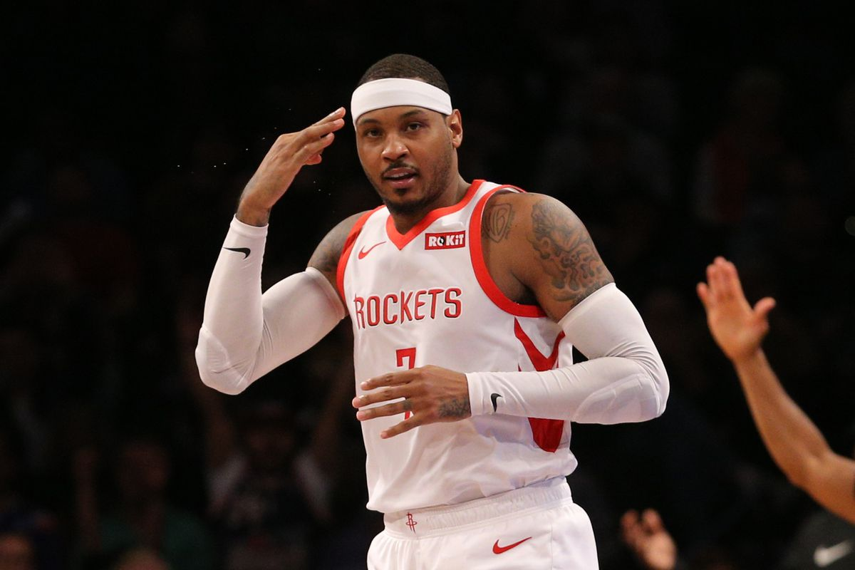 Yeah, we don't beat the Nets without Melo.