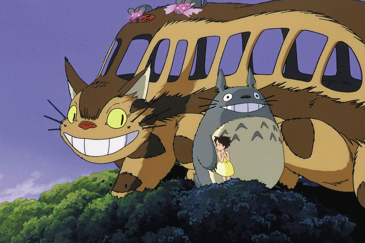 Totoro Cat Bus Spirited Train And Ghibli S Travel Obsession Explained Polygon