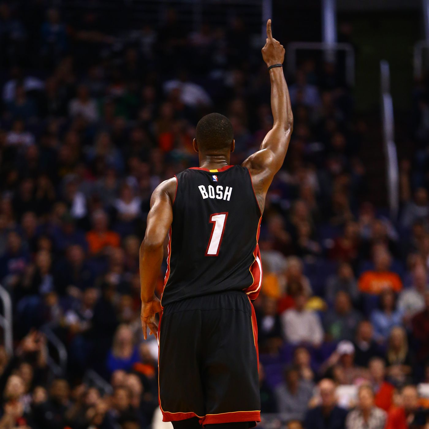 promo code 45ff1 4ef70 Heat retiring Chris Bosh's number is absolute right thing to ...
