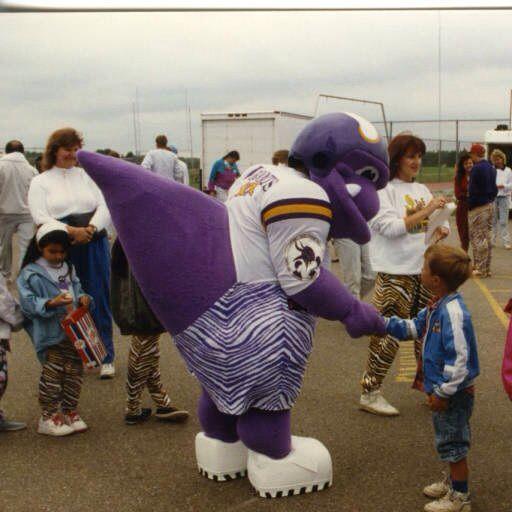 A Brief History Of Minnesota Vikings Mascots Daily Norseman