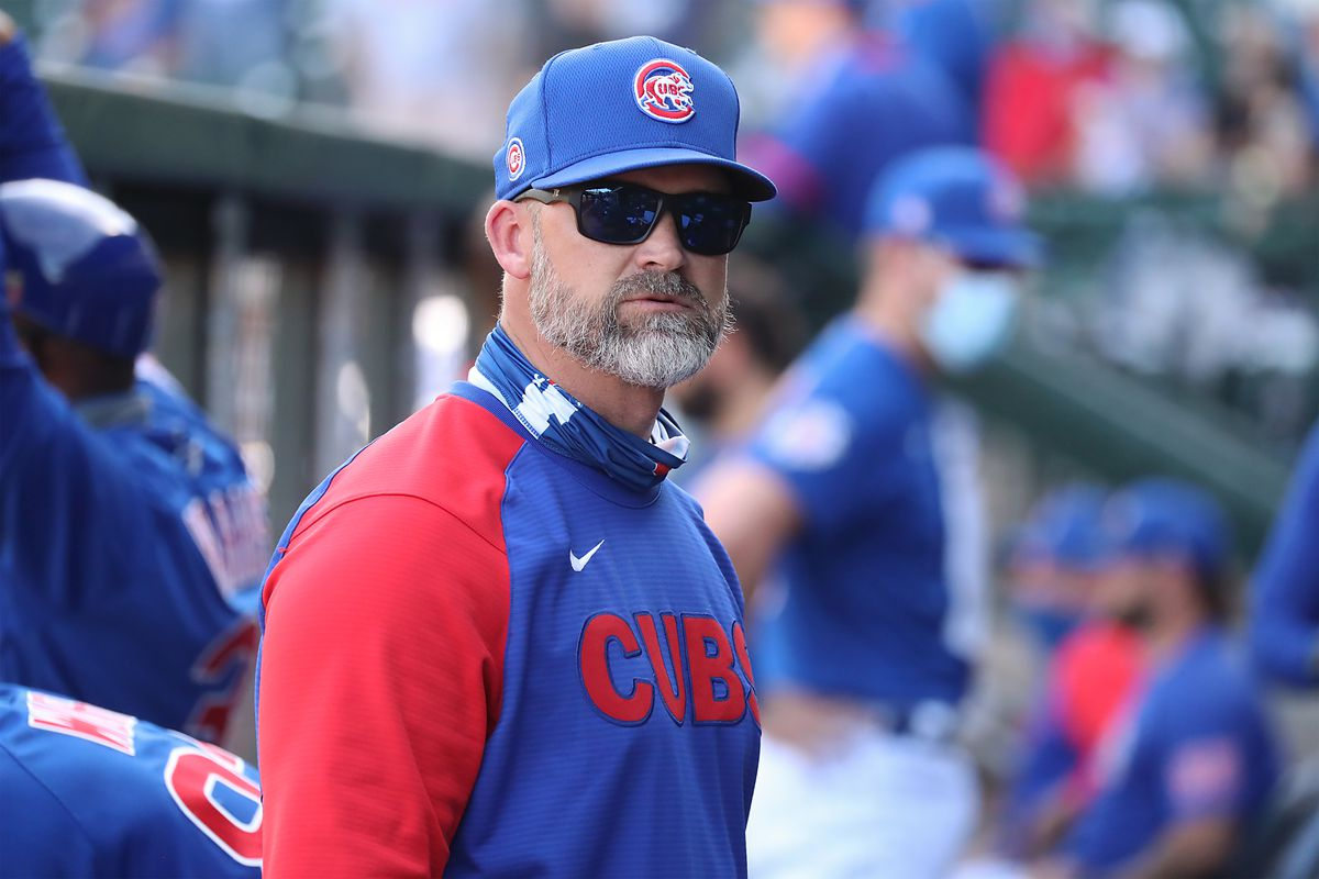 """Cubs manager David Ross: """"It's fresh this year. It feels good to be back because it does feel like we're moving in the right direction."""""""