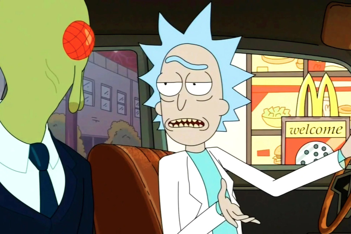 A still from 'Rick and Morty'