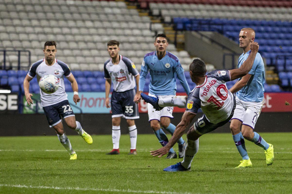 Bolton Wanderers v Manchester City U21 - Leasing.com Trophy