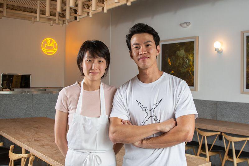 Tiantian Qiu and Lin Kai of Mala Town