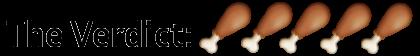 5 Turkey Legs