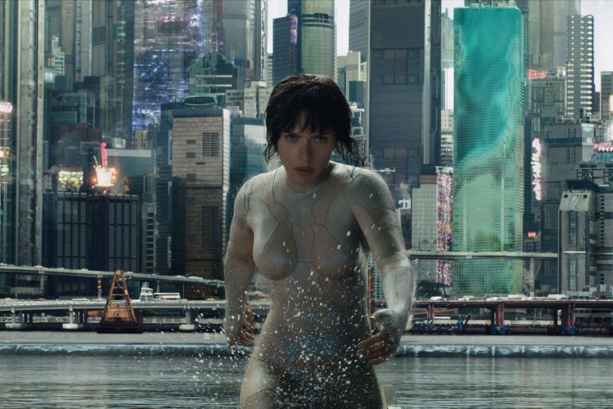 Scarlett Johansson plays Major in Ghost in the Shell
