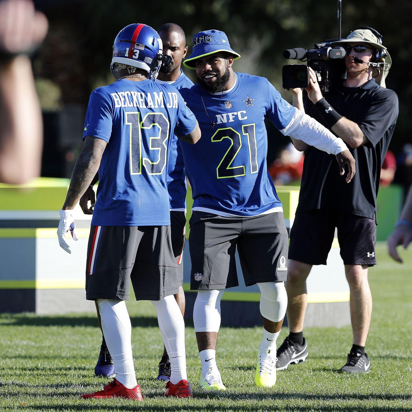 brand new 0b0c2 dd727 NFC Pro Bowl roster 2017: Ezekiel Elliott and Odell Beckham ...