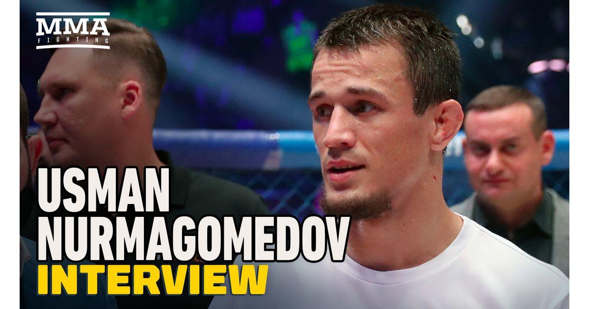 Video: Usman Nurmagomedov 'in no rush' but plans to 'smash' all top-10 Bellator lightweights