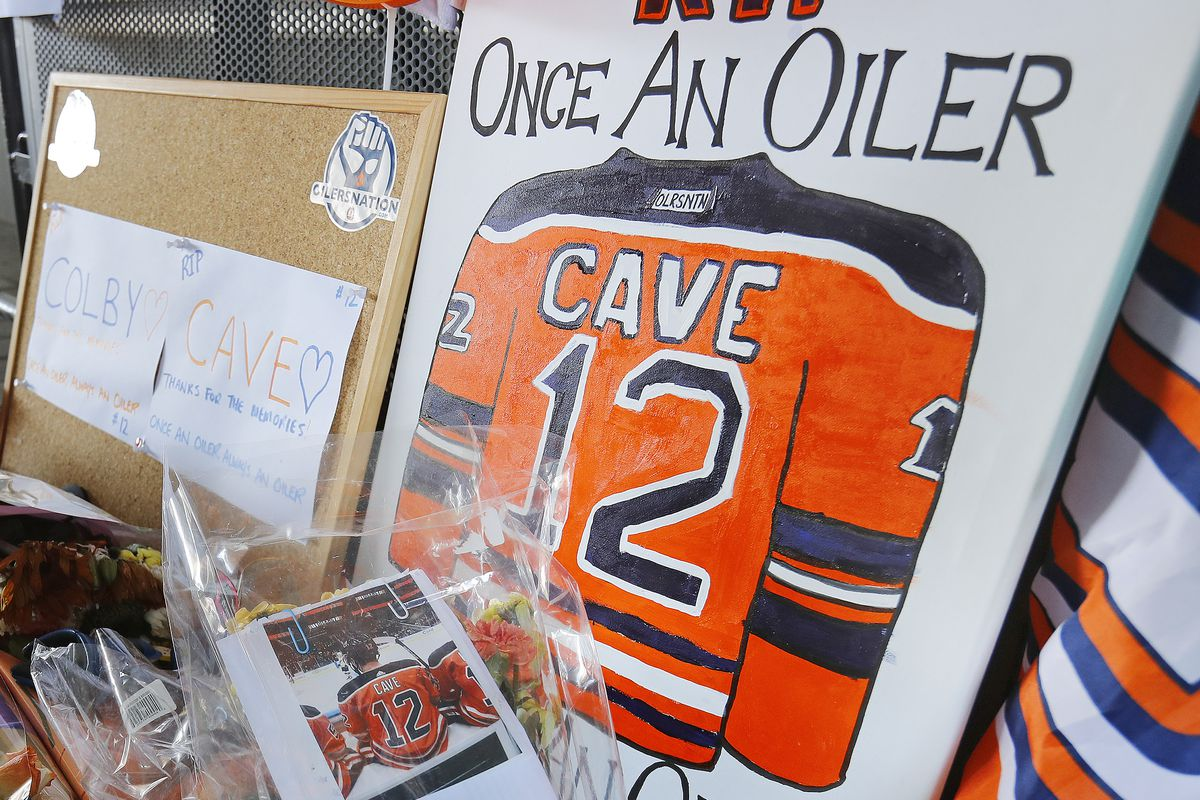 NHL: Colby Cave Memorial