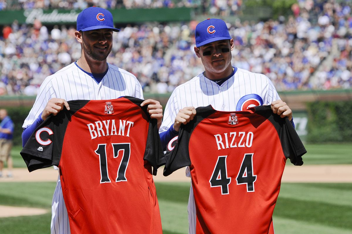 c18457b10ac414 2015 Home Run Derby: Anthony Rizzo, Kris Bryant Represent Cubs ...