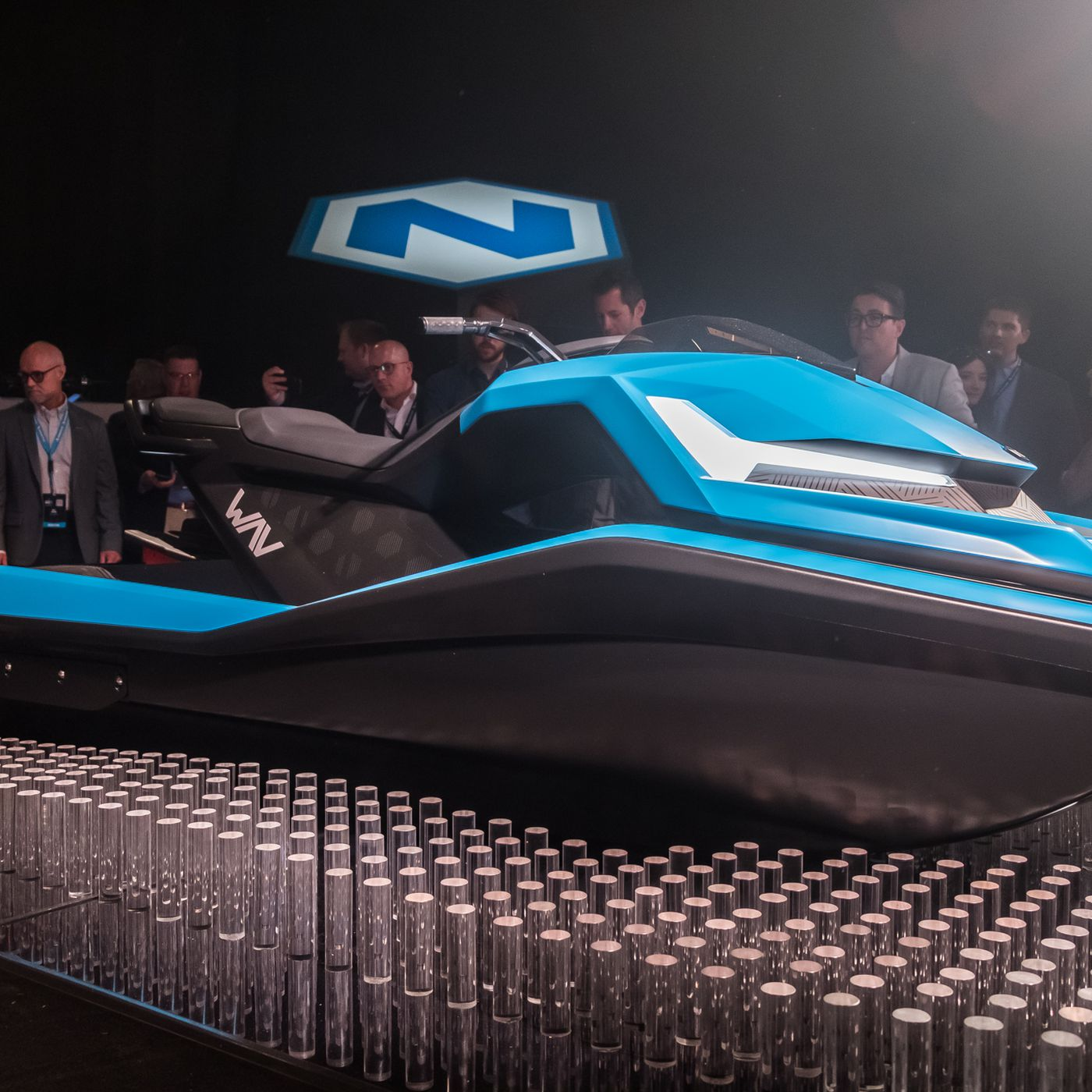 The Nikola Wav Is An Electric Watercraft With A 4k Display And Cruise Control The Verge