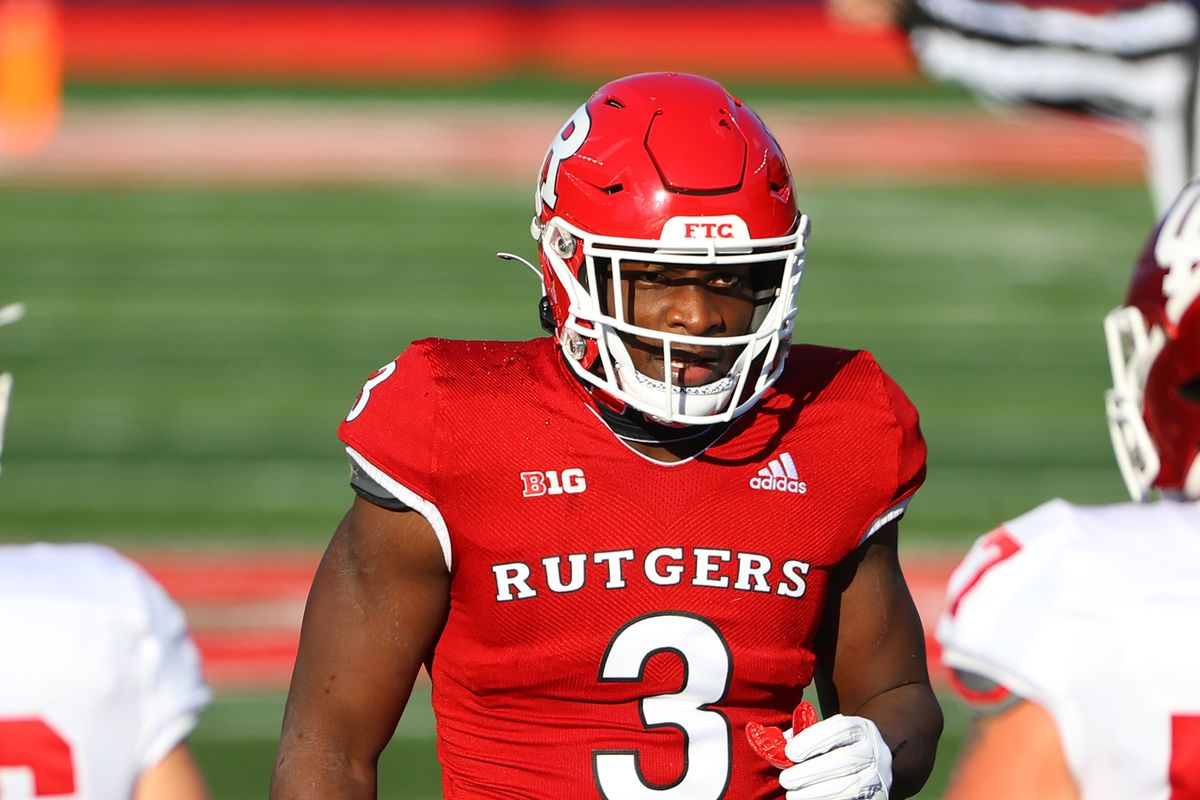 COLLEGE FOOTBALL: OCT 31 Indiana at Rutgers