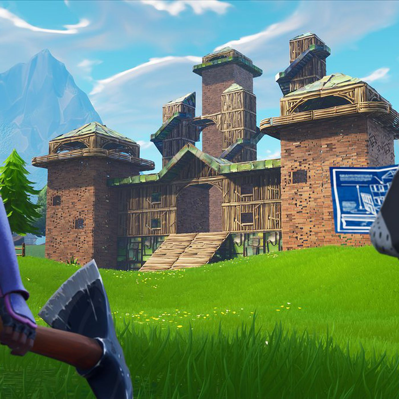 the future of fortnite may look a lot like playground mode - fortnite cant shoot glitch creative