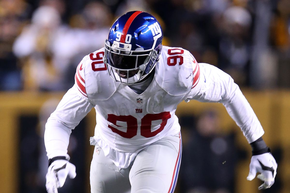 "Jason Pierre Paul Back ""maybe before"" the NFC Championship Game"