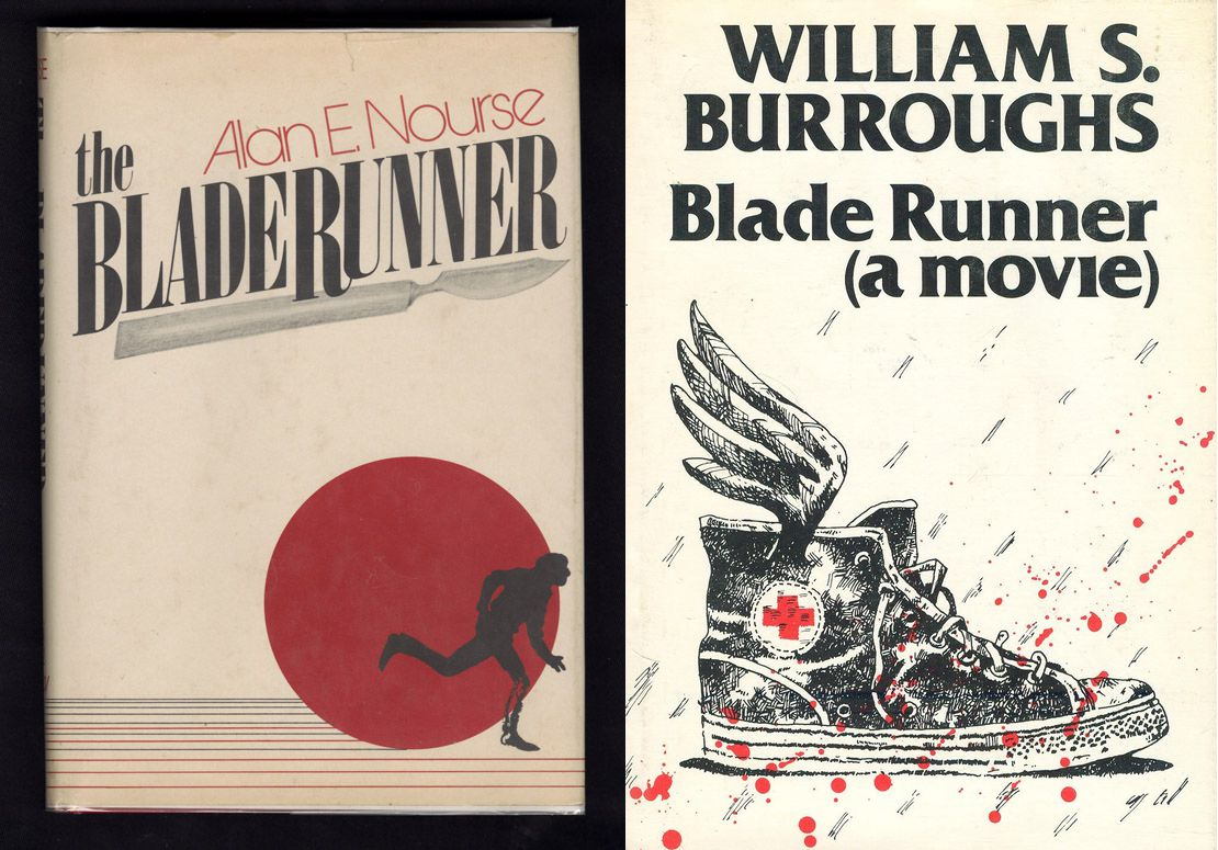 Blade Runner Nourse and Burroughs titles