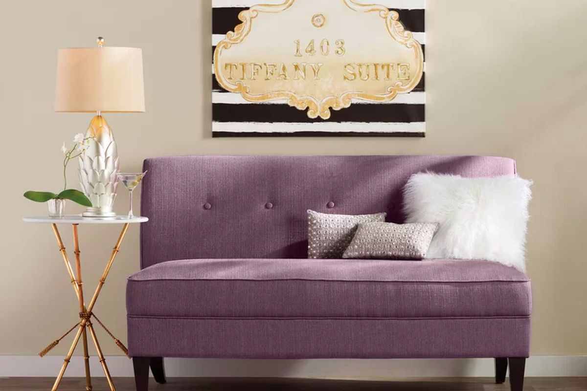 The Perseus Loveseat is going for  219 99  orig   952  during Wayfair s  Black Friday Blowout  Wayfair. Black Friday 2017 deals on furniture  smart home tech  and more