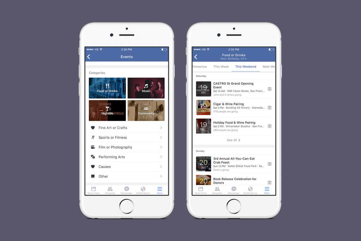 0b40bb08c5 Facebook is making it easier to find nearby events - The Verge