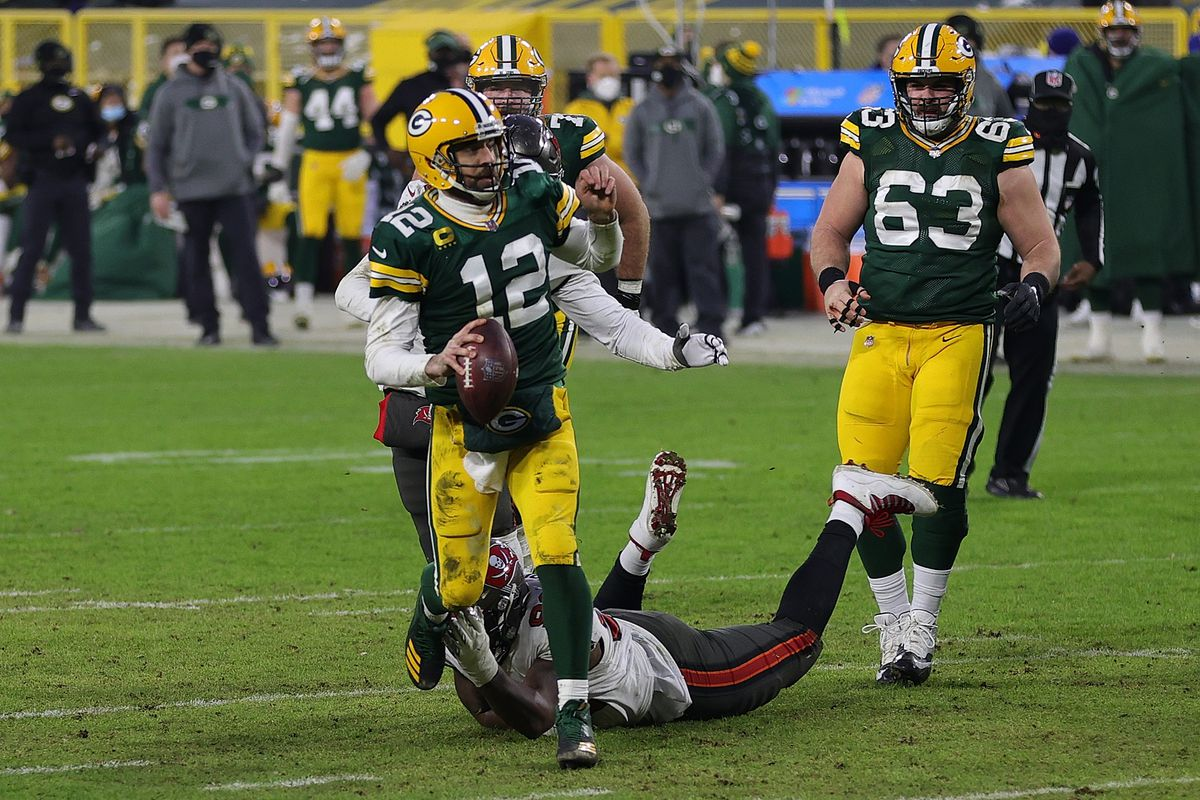Bears fans would be more than happy to see Aaron Rodgers leave the NFC North.