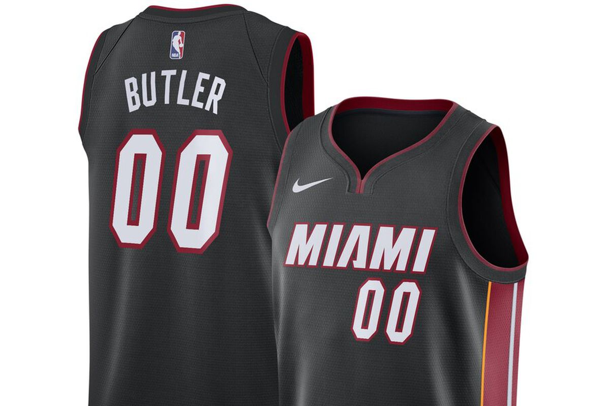 quality design 0026e d9f02 The first Jimmy Butler Miami Heat Nike Swingman jersey is ...