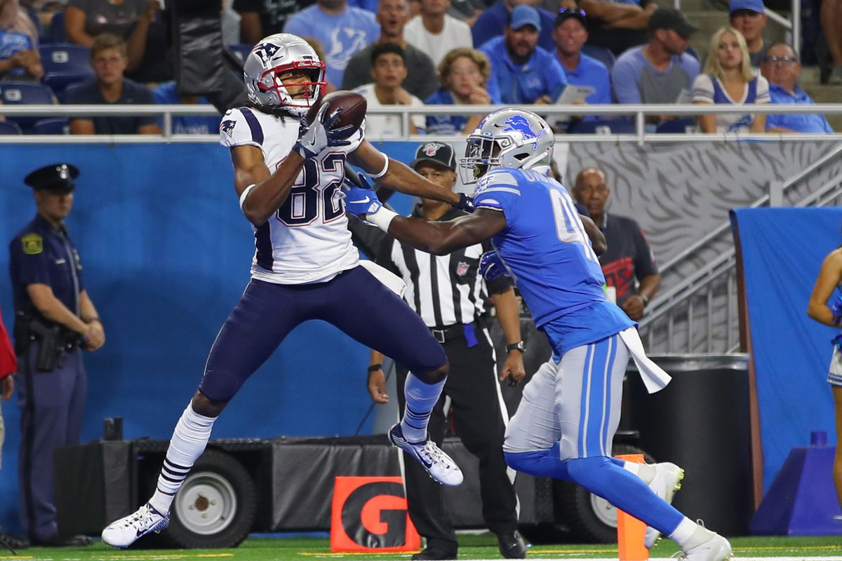 d9b2820d Patriots vs Lions highlights: Relive New England's 31-3 win in ...