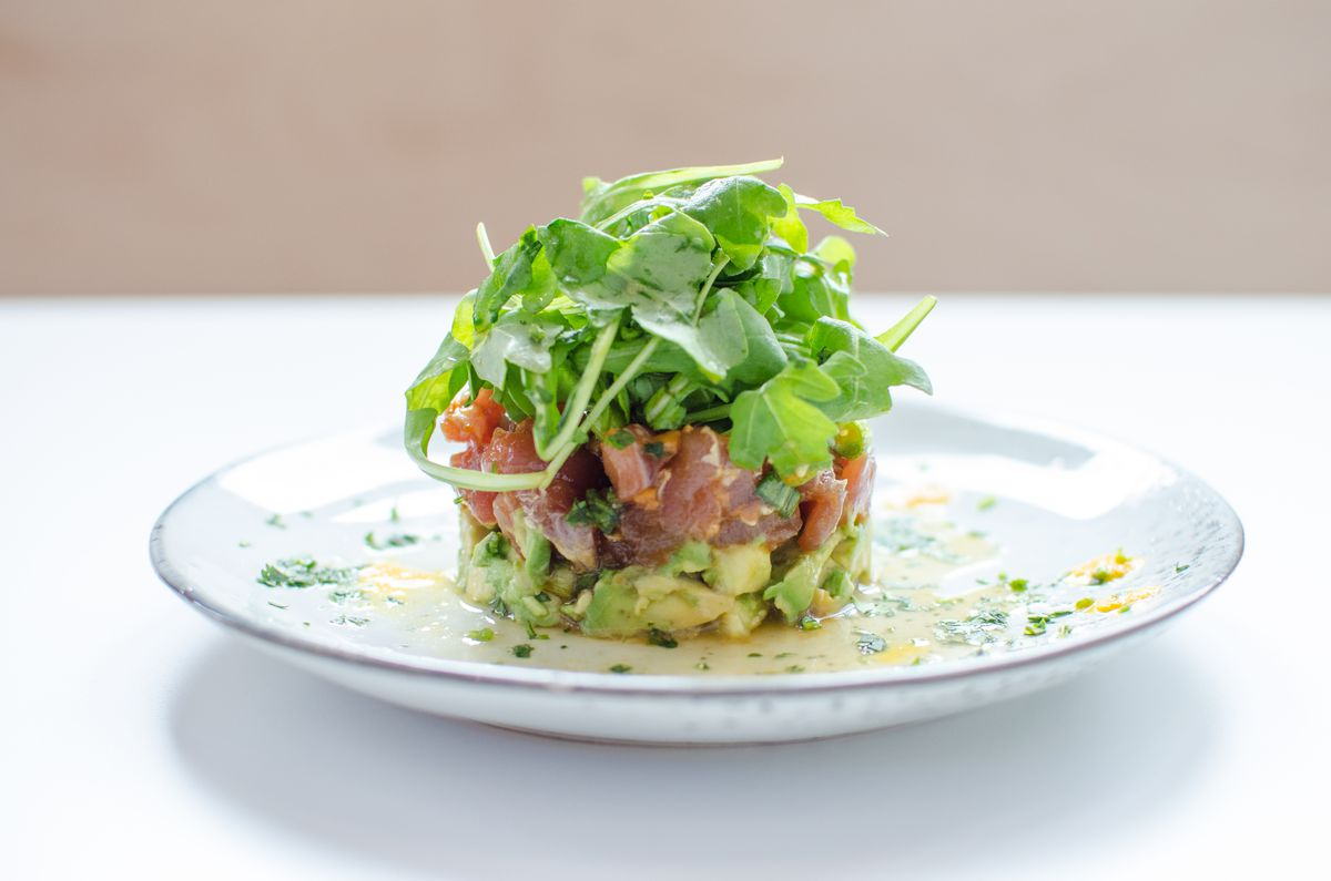 Tuna tartare at Celeste