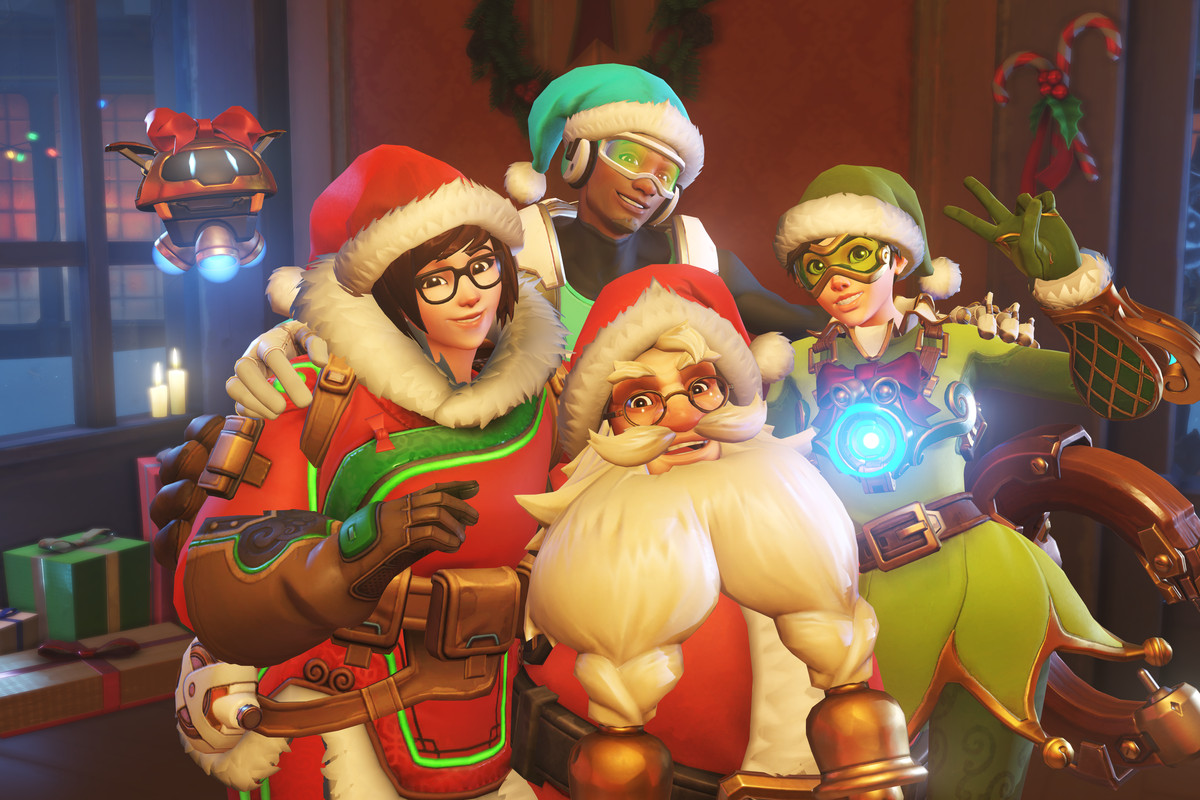 Overwatch Christmas 2019 Overwatch teases Winter Wonderland with legendary skins for