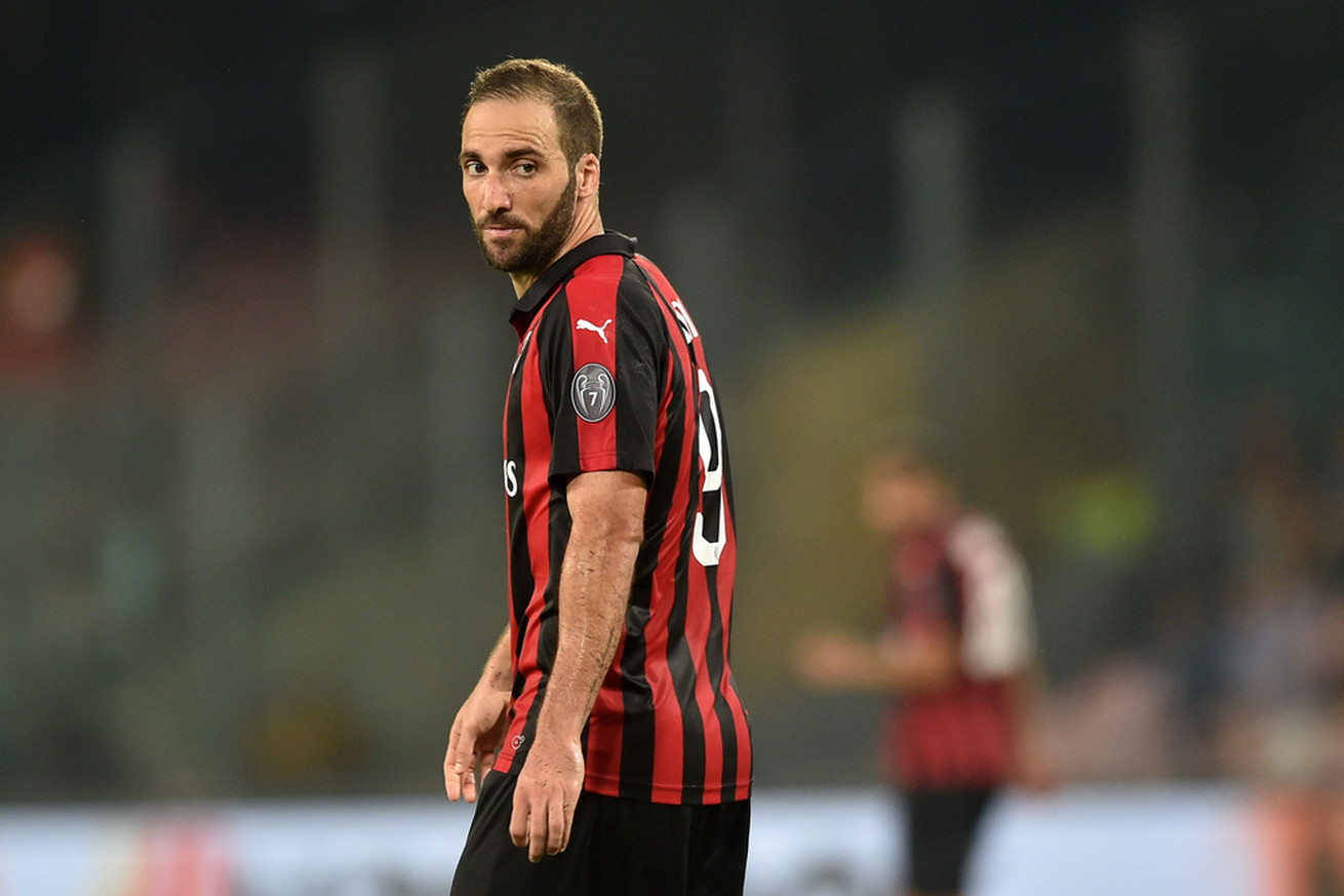 Gonzalo Higuain is the striker that AC Milan have been missing