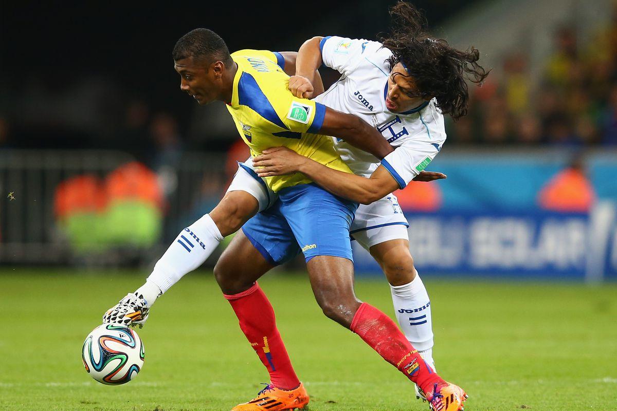 Espinoza and Los Catrachos fought hard but couldn't muster a result against Ecuador
